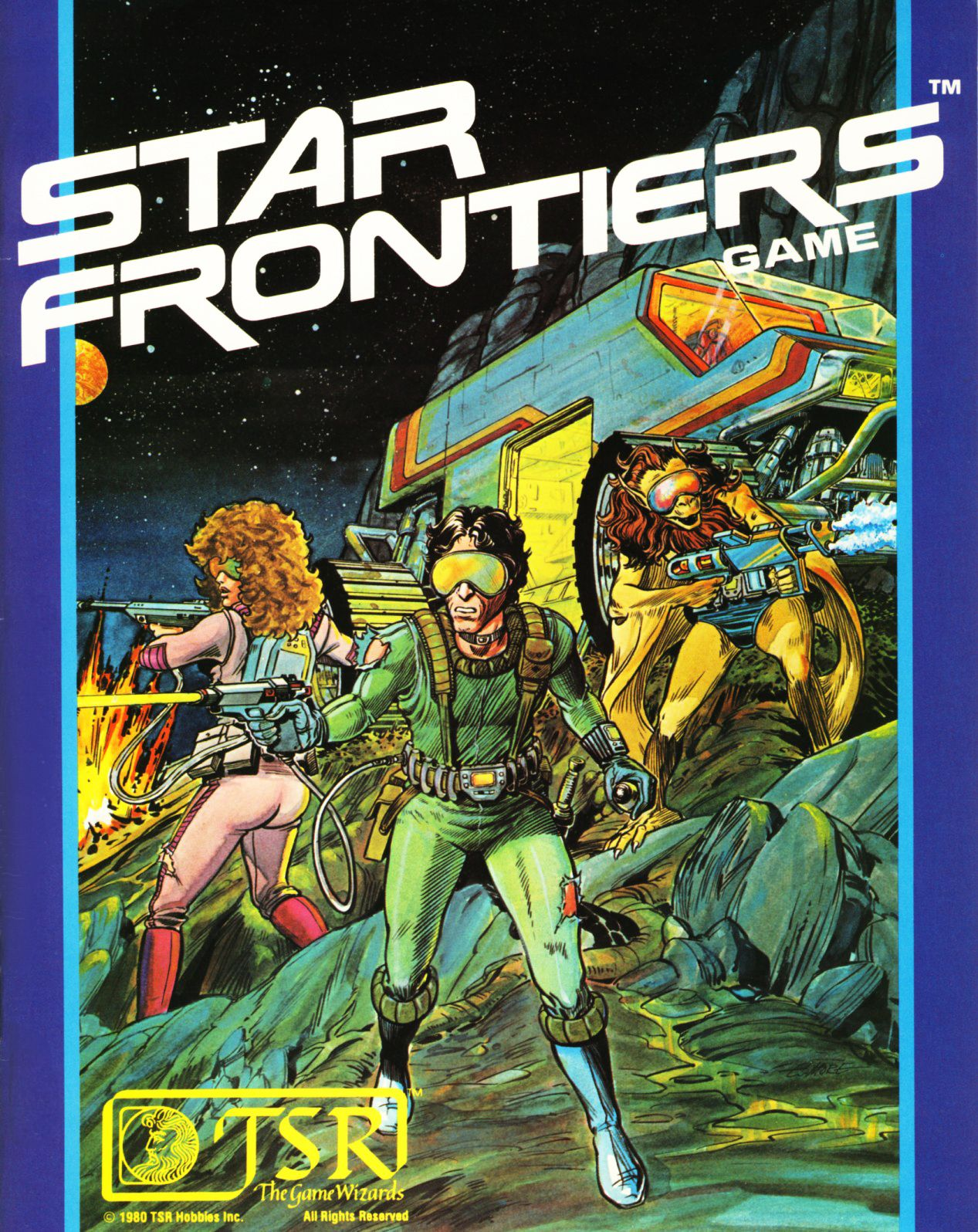 Star Frontiers | Classic rpg, Roleplaying game, Roleplay
