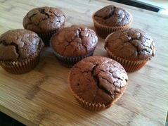 muffins choco noisettes