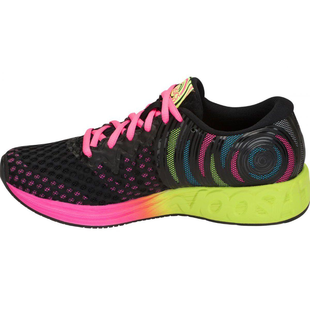 Buty Do Biegania Asics Gel Noosa Ff 2 W T869n 001 Czarne Wielokolorowe Asics Gel Noosa Black Running Shoes Running Shoes