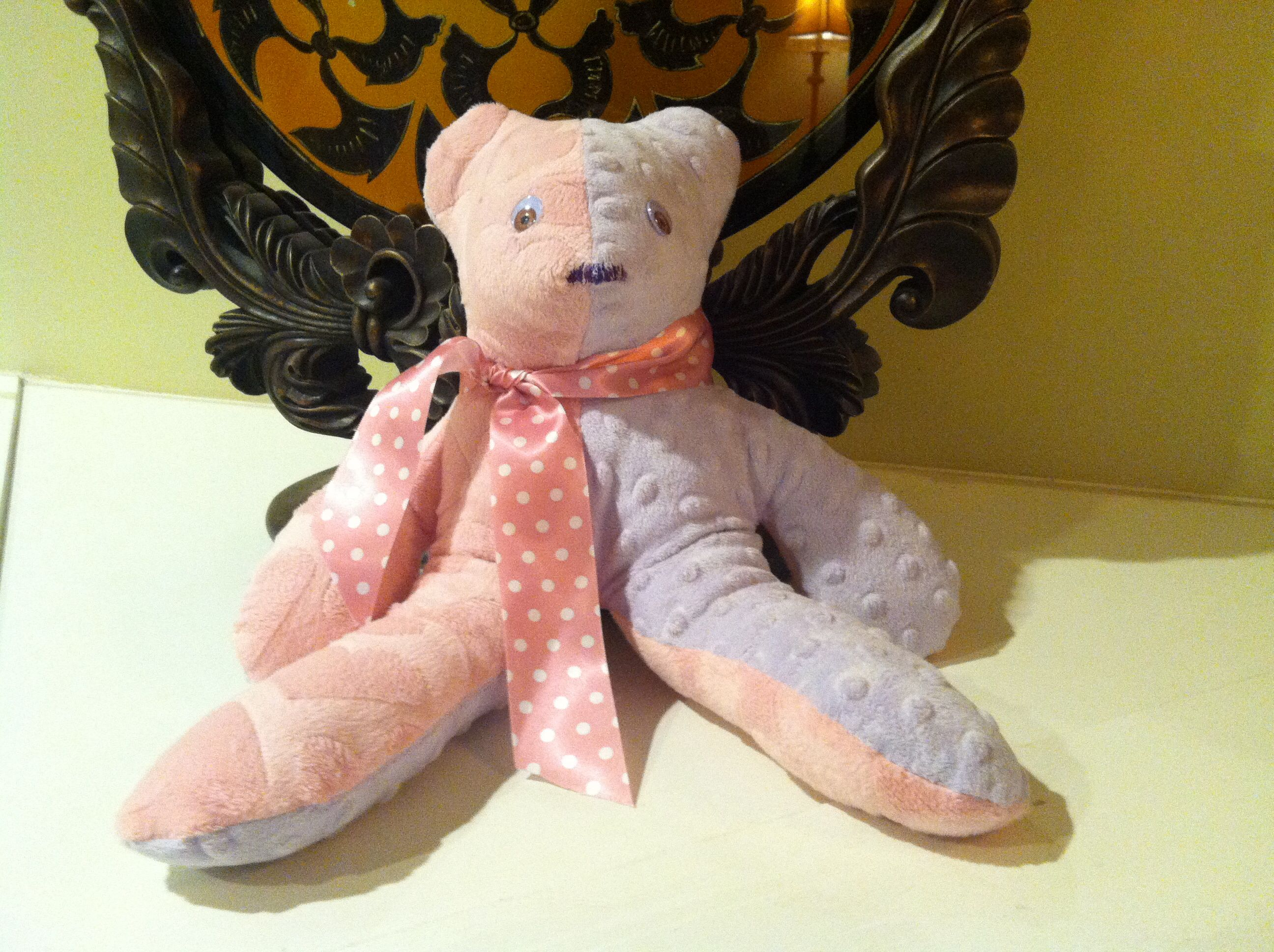 Build a bear for kids and insert a heart with them sew up and giv as present. Priceless