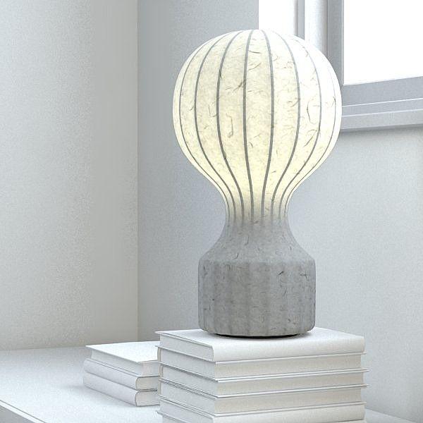 Lámpara Gatto de Flos, diseñada por Achille Castiglioni y Pier Giacomo Castiglioni en 1960