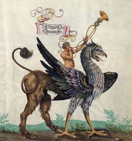 Triumphal Griffins