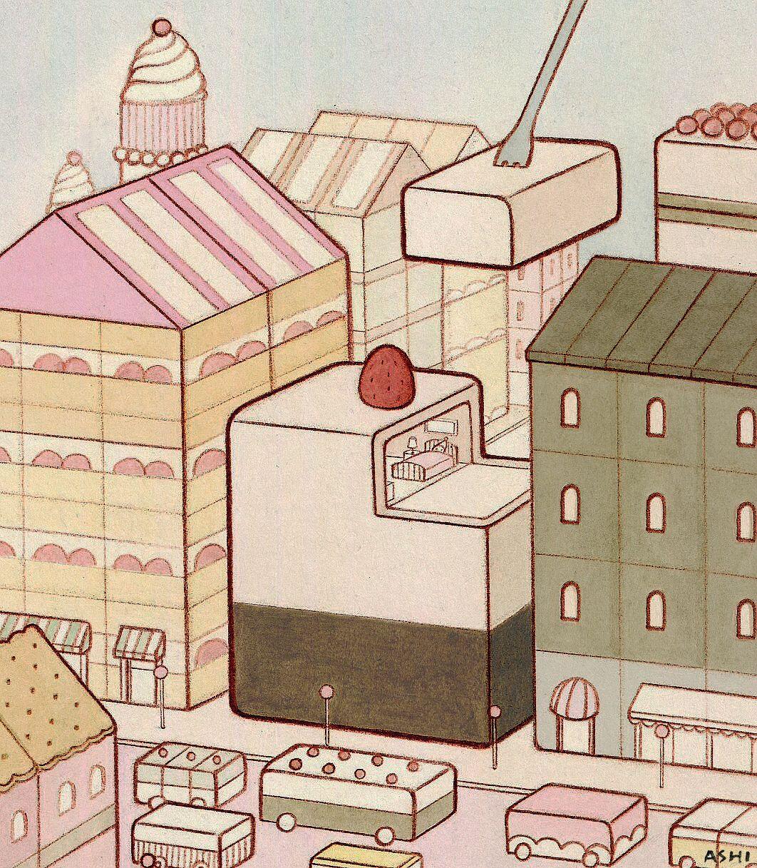 Cake ~ city