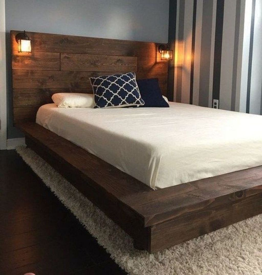 37 Affordable Floating Bed Design Ideas For Cozy Sleep Bed Design Luxury Wooden Bed Wood Bed Design