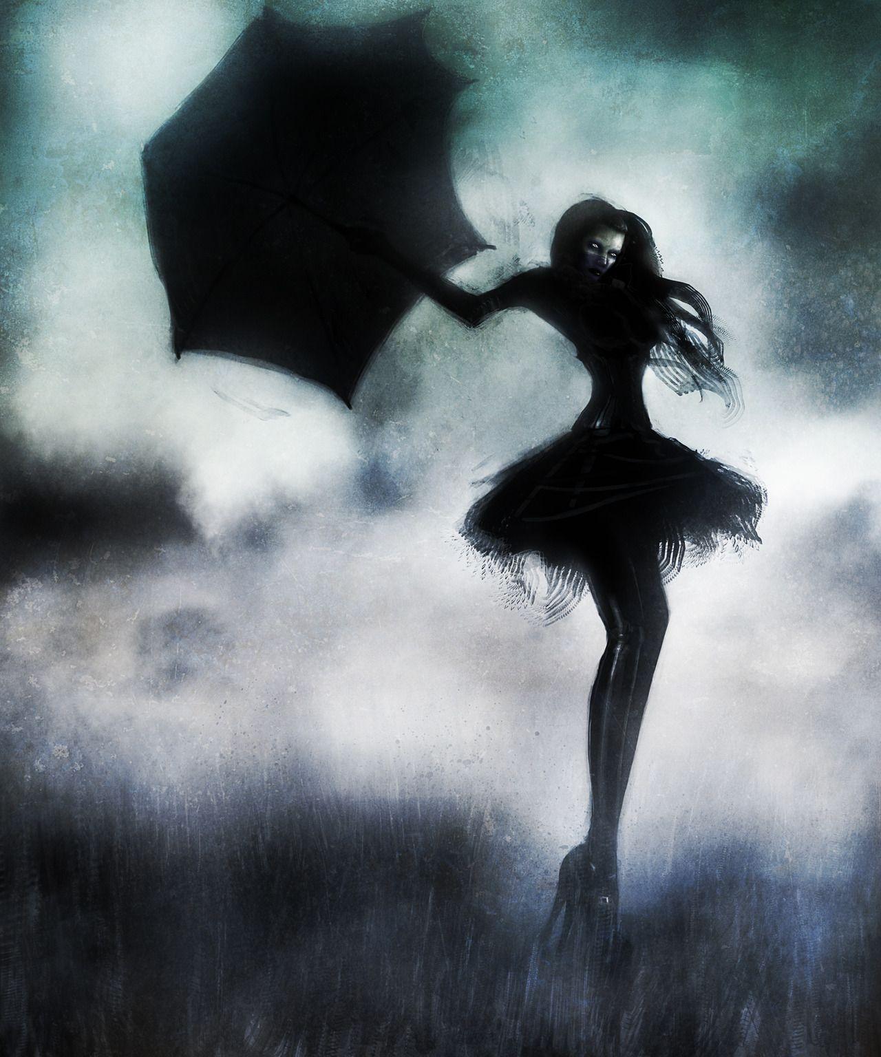 goth. digital. surreal. portrait. | Surreal art, Dark gothic art, Art