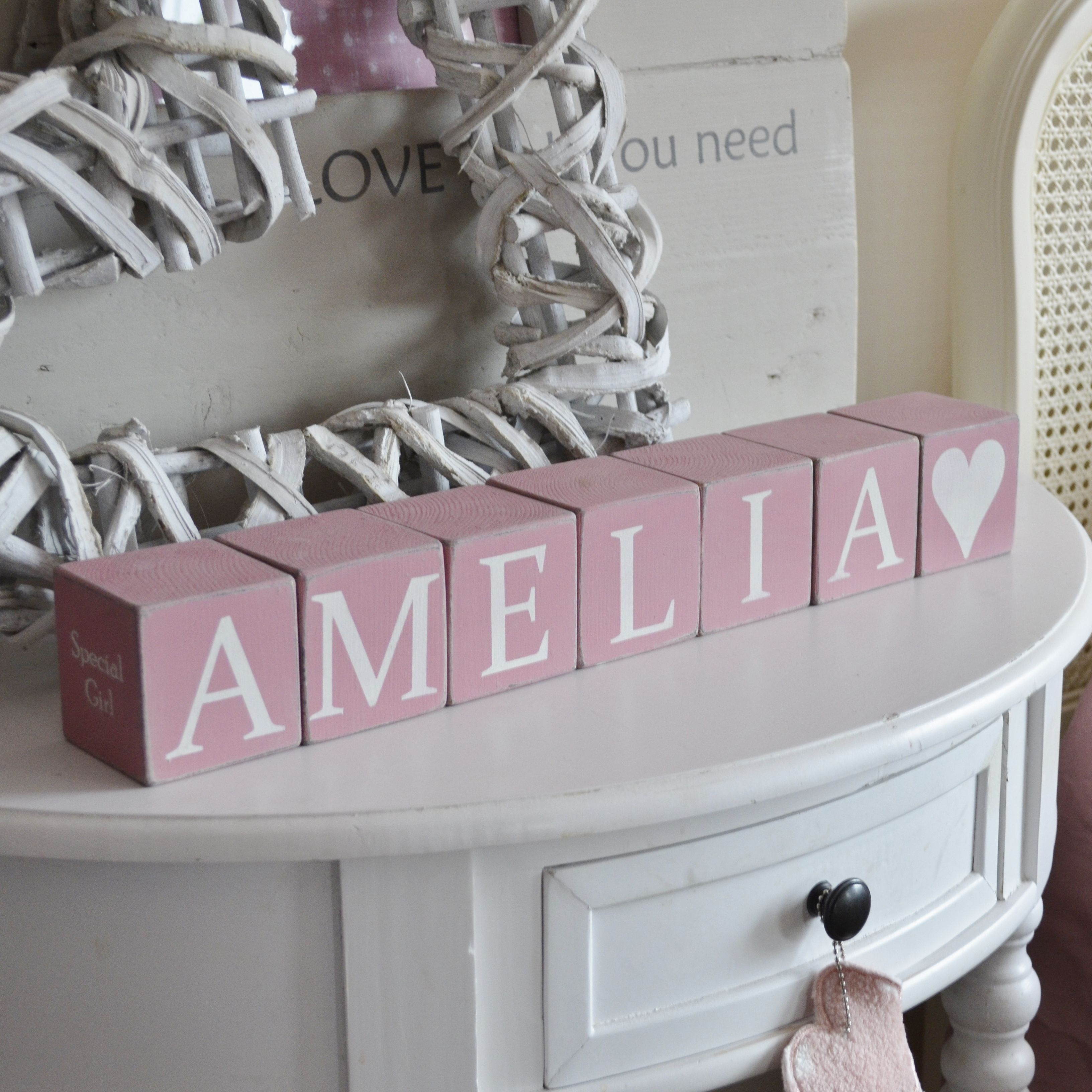 Gorgeous thoughtful and meaningful gifts for little ones gorgeous thoughtful and meaningful gifts for little ones personalised name blocks littleboots negle Image collections
