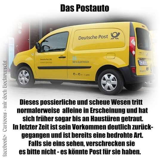 Die deutsche Post... Witze, Deutsche post, Lustige sprüche