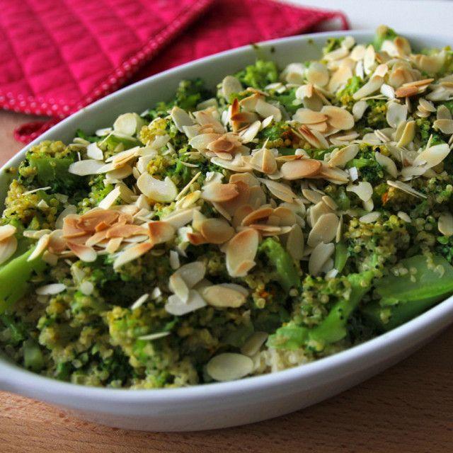 Power brokolička s quinoou