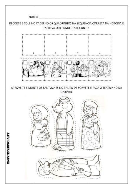 Contos De Fada Atividades Pedagogica Suzano Com Imagens