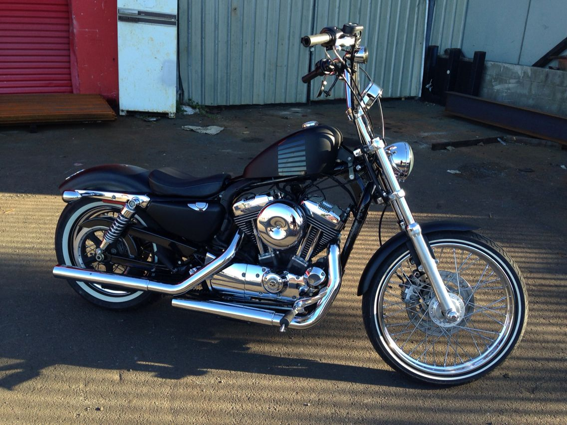 Harley davidson 72 custom by goodtimes garage