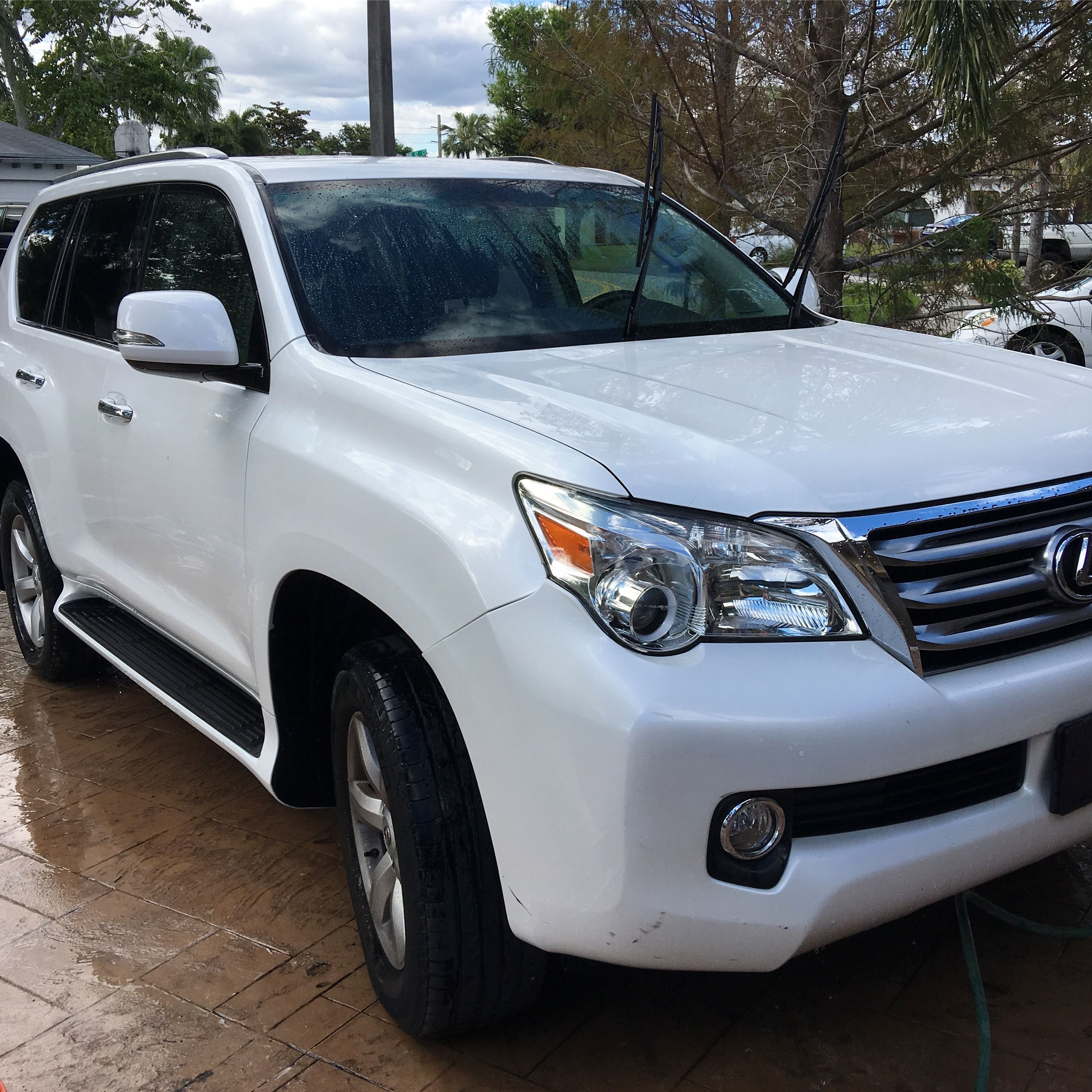 My Last Lexus Gx460 In White With Black Leather Interior Just Traded Her Prior To