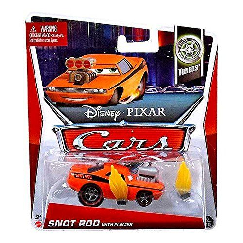 Disney/Pixar Cars 2013 Tuners Die-Cast Snot Rod with Flames #8/10 1:55 Scale Disney http://www.amazon.com/dp/B00DB3HVBE/ref=cm_sw_r_pi_dp_Ig4Gvb177SGZ9