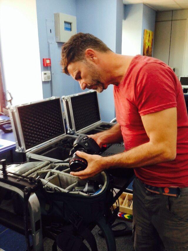 Preparando los equipos para una nueva salida Render #RenderEmotion #Filmmaking #Photography