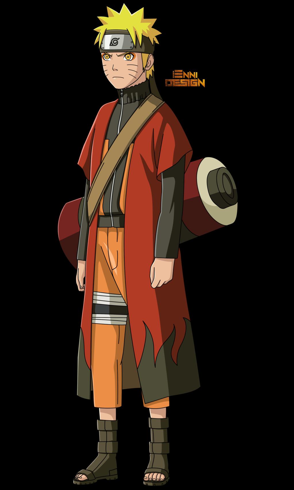 Naruto Shippuden|Naruto Uzumaki (Sage Mode) by iEnniDesign ...  Naruto Shippude...