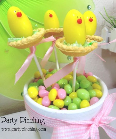 Chicks on a Stick
