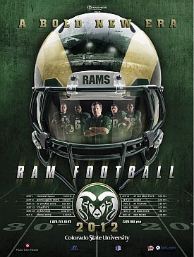 Csu Football Schedule Poster Ranked Among The Best In Nation Nice