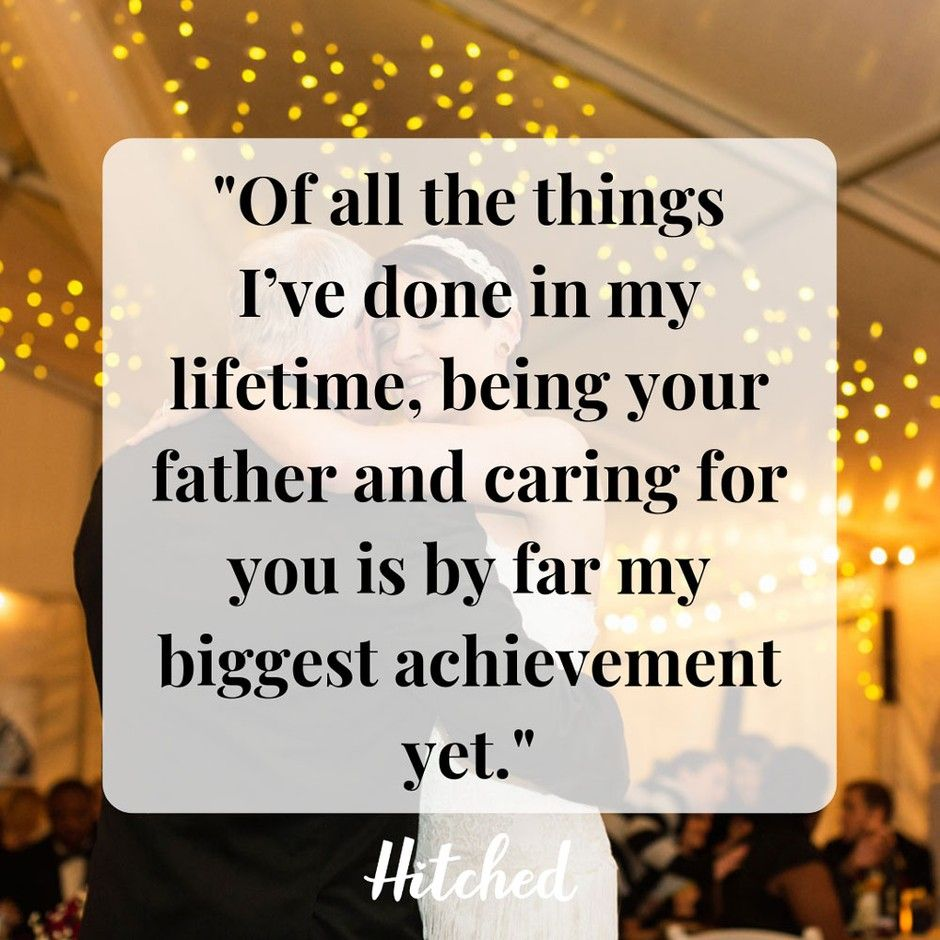 23 TearJerking Father of the Bride Speech Quotes and