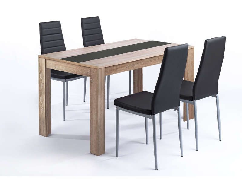 awesome Ensemble table et 4 chaises PEGASUS - Conforama Check more - Conforama Tables De Cuisine