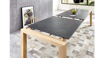 Tisch Ausziehbar Keramikplatte.Esstisch Ausziehbar In Eiche Ausziehtisch