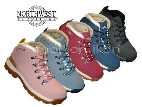 8f391bc5b74 Details about Northwest Territory Trek Ladies Waterproof Walking ...