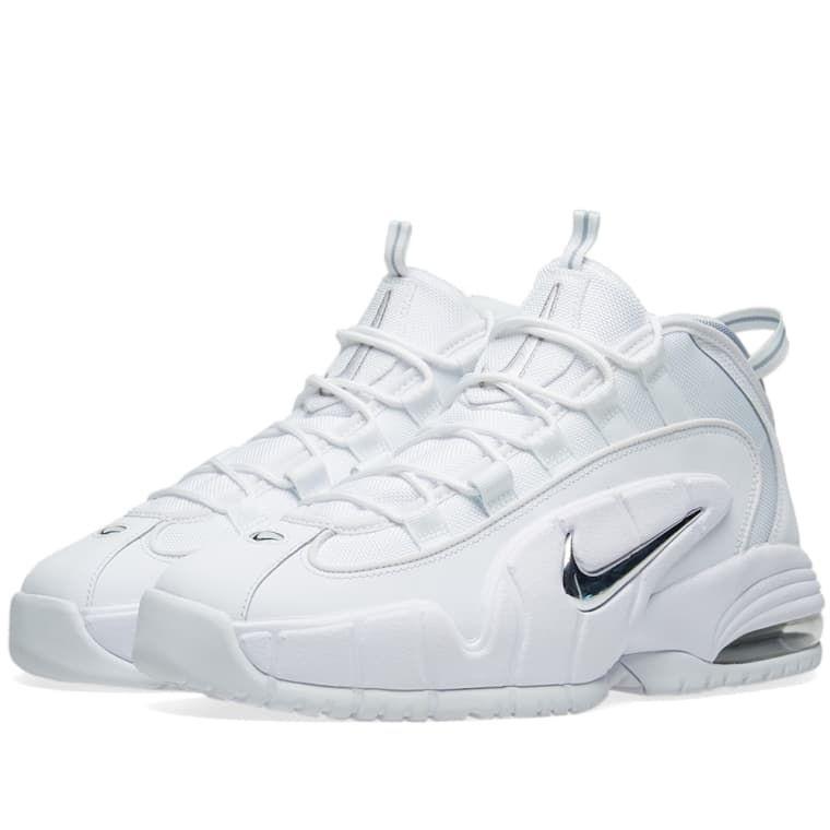 2d80fb60cd2 Nike Air Max Penny White   Metallic Silver 1