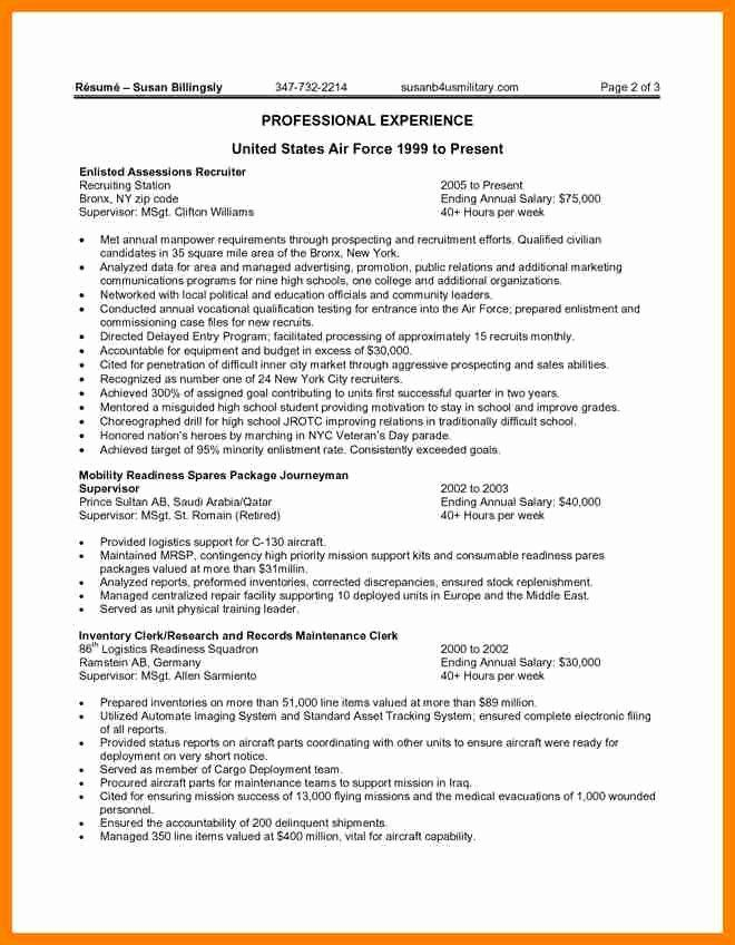 Federal Resume Template 2016 Awesome 20 Federal Resume Examples