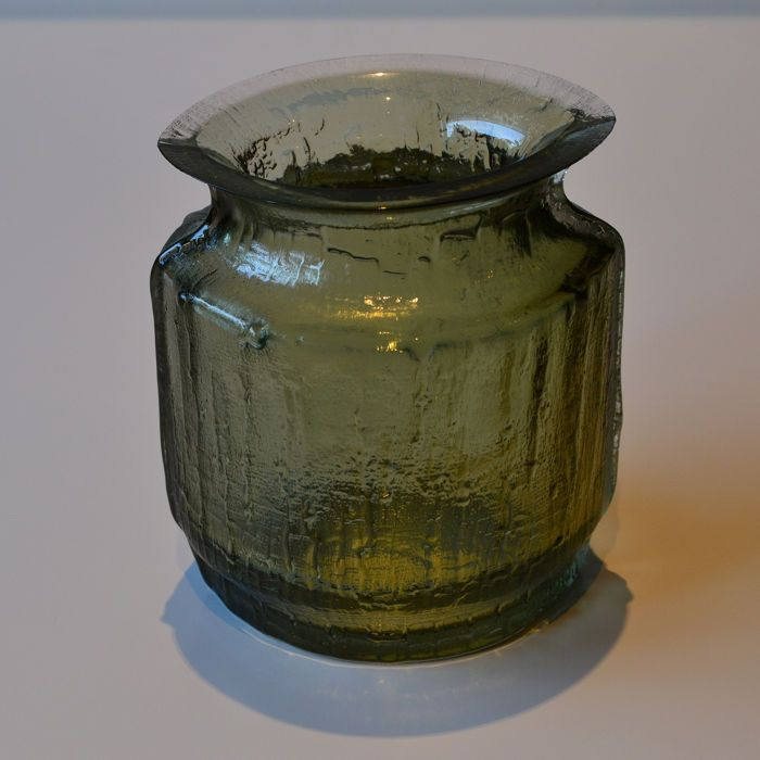 Timo Sarpaneva Iittala Vase 1 Glass Vase Glass