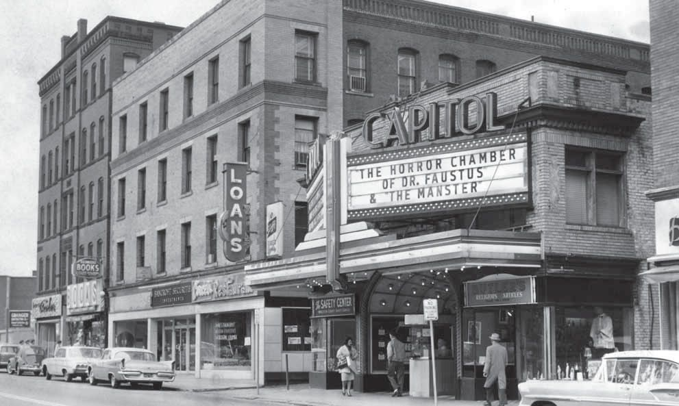 Capitol Theater In Its Heyday Worcester Ma Horror Fans Classic Horror Horror