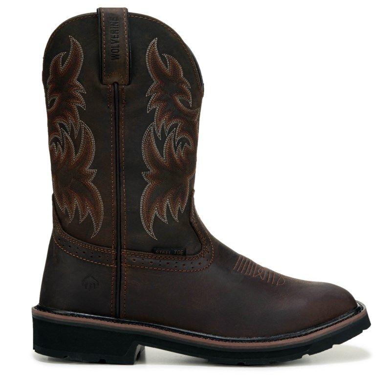 Men's Rancher Medium/XWide Waterproof Steel Toe Work Boot