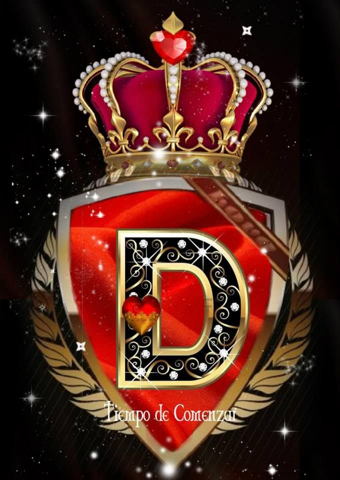 Heart Crown D Name Wallpaper Phone Wallpaper Patterns Photo Letters