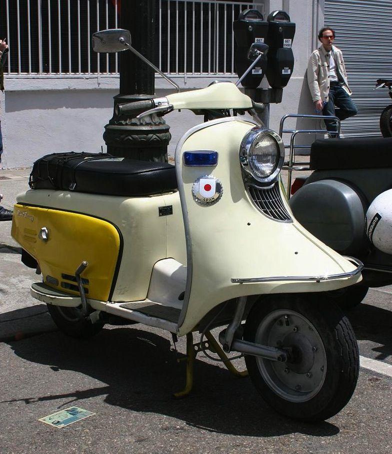 1950 Fuji Touring 150 Scooter 135cc Single Cylinder 4