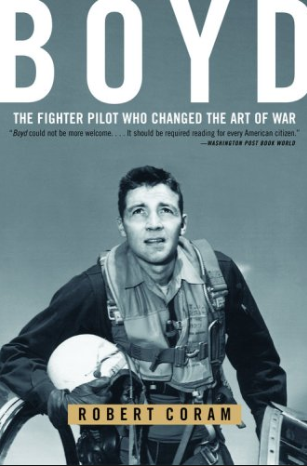 John Boyd may be the most remarkable unsung hero in all of American military history. Some remember him as the greatest U.S. fighter pilot ever. Some recall him as the father of our country's most legendary fighter aircraft. Still others think of Boyd as the most influential military theorist since Sun Tzu. They know only half the story.   To buy this book and browse other Marine Corps related books visit www.marineshop.net.