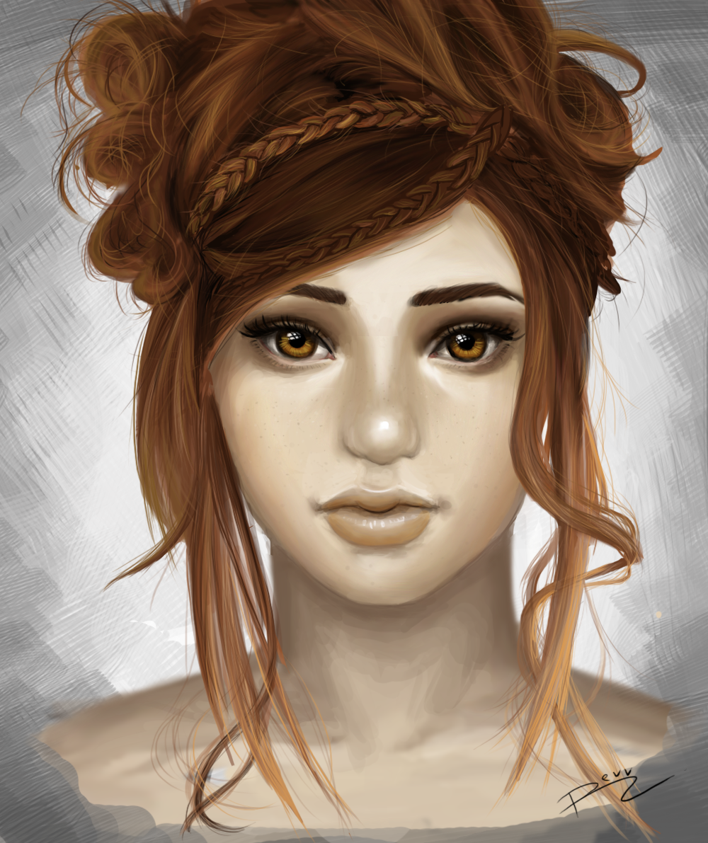 Pretty face by revvriverse.deviantart.com on @deviantART