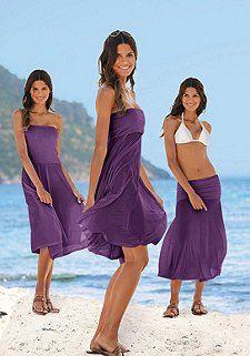 4 Tragevarianten-Strandkleid, LASCANA