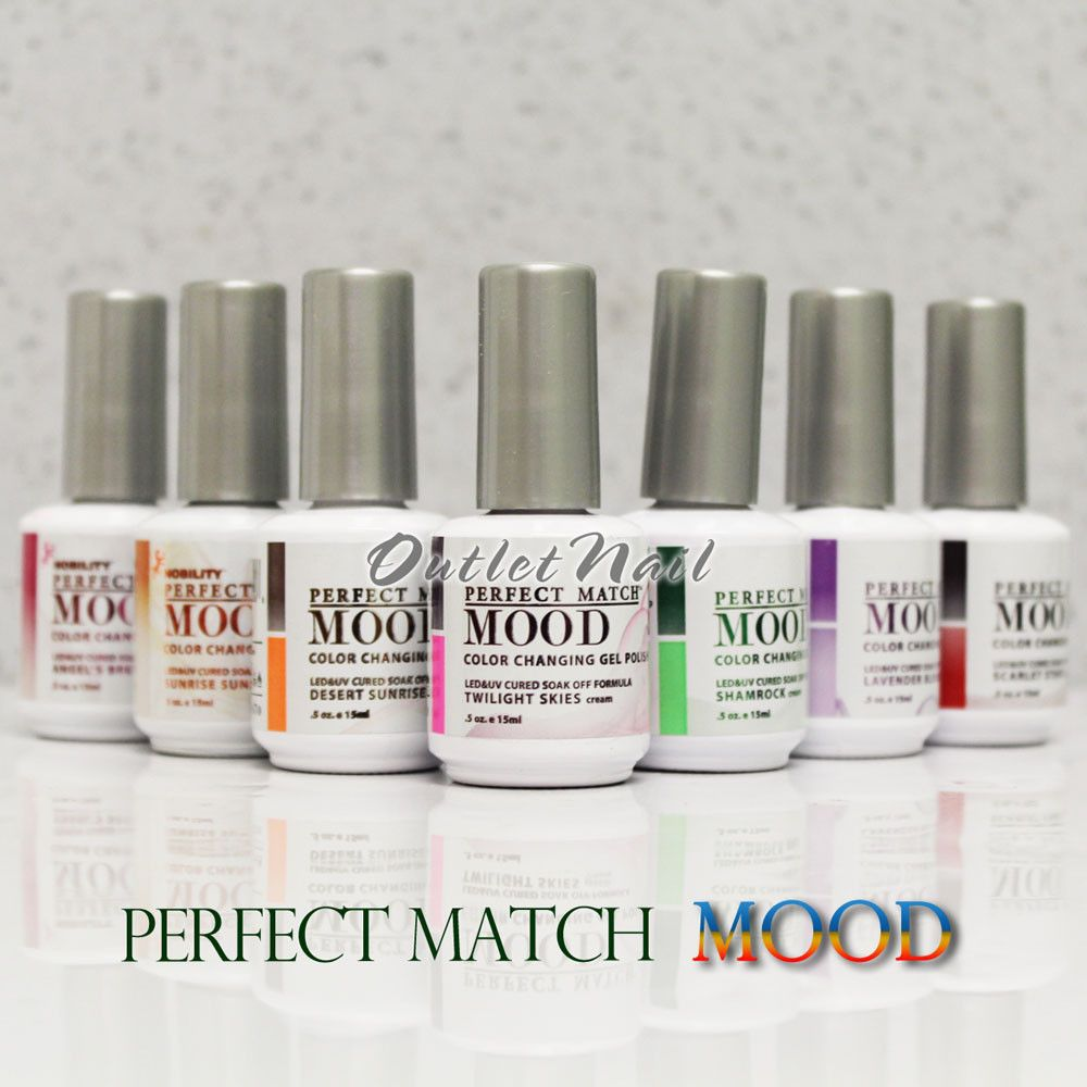 LeChat Perfect Match MOOD Color Changing Gel Polish Collection – Pick Any Shade #LeChat