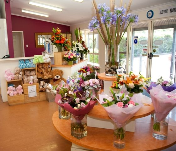 Olivieri\'s Florist Interior   Florist shop ideas   Pinterest