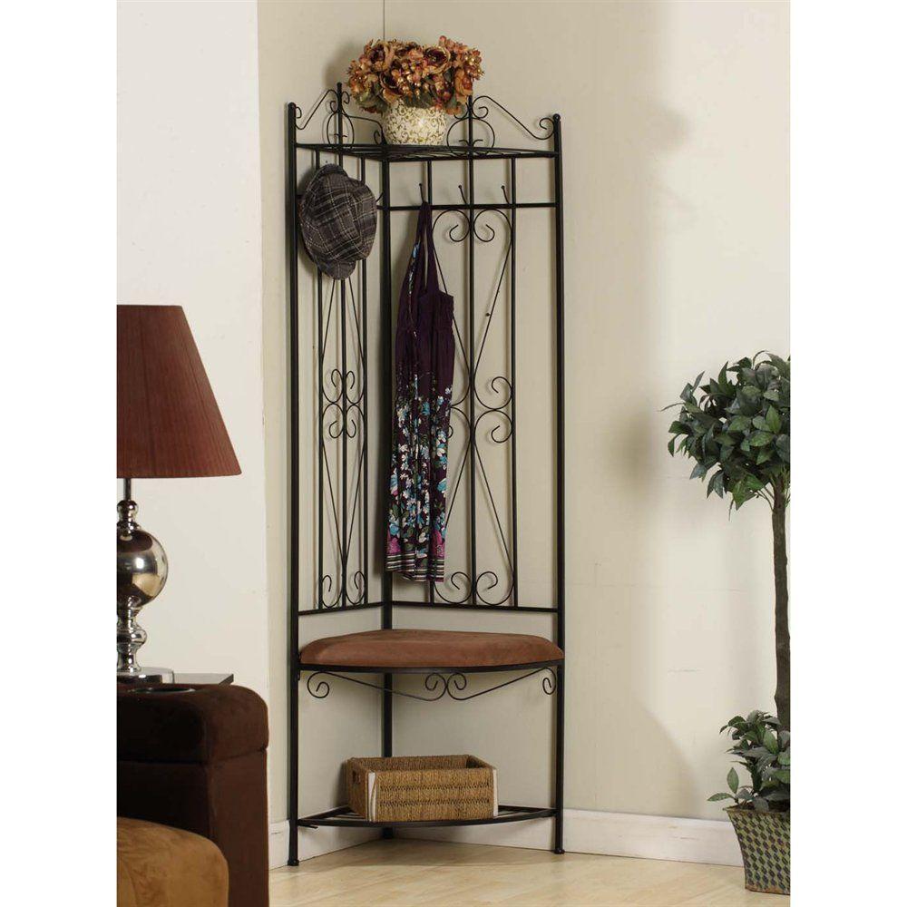 Hallway coat closet  Shop KB Furniture M Corner Hallway Bench at ATG Stores Browse our