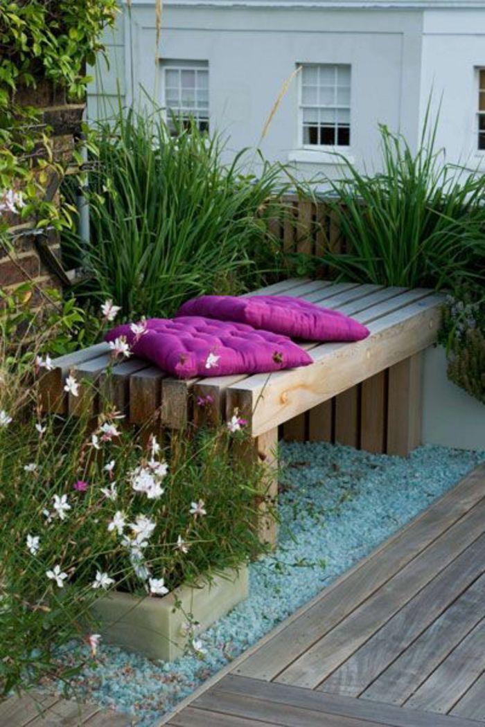 Voici Nos Exemples Pour Un Banc De Jardin Garden Swing Contemporary Garden Backyard Garden