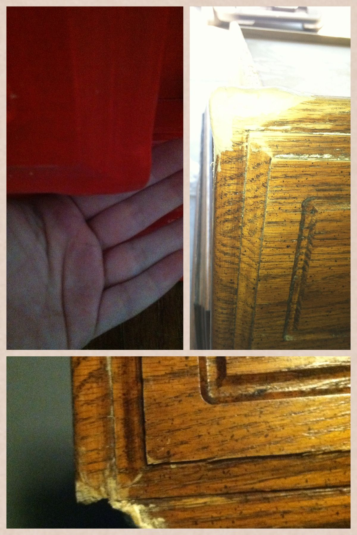 How to fix a broken wood corner. Wood epoxy can be used to repair ...