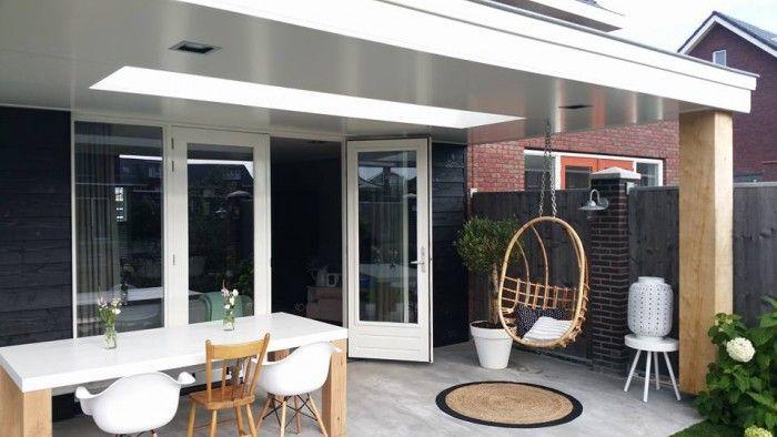 Onze veranda in 2015 af natuurlijke en stoere materialen zorgen voor een prachtige uitstraling for Overdekt terras model