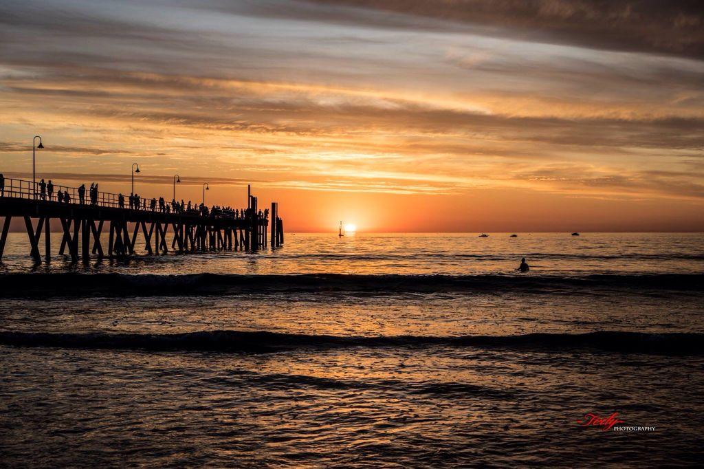 """The Real South Australia Sunset""Glenelg Adelaide by Tedy Photography.Australia.com"
