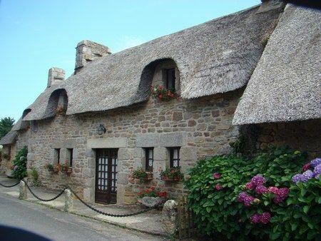 K rasco t un village en toit de chaume bretagne brittany home sweet home - Maison en toit de chaume ...