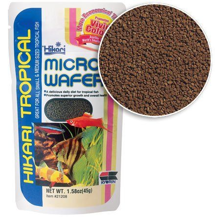 7 79 4 09 A Fantastic Replacement For Flake For Use With All Types Of Tropical Fish This Wafer Allows Almost Any Freshwater F Fish Recipes Food Animals Food