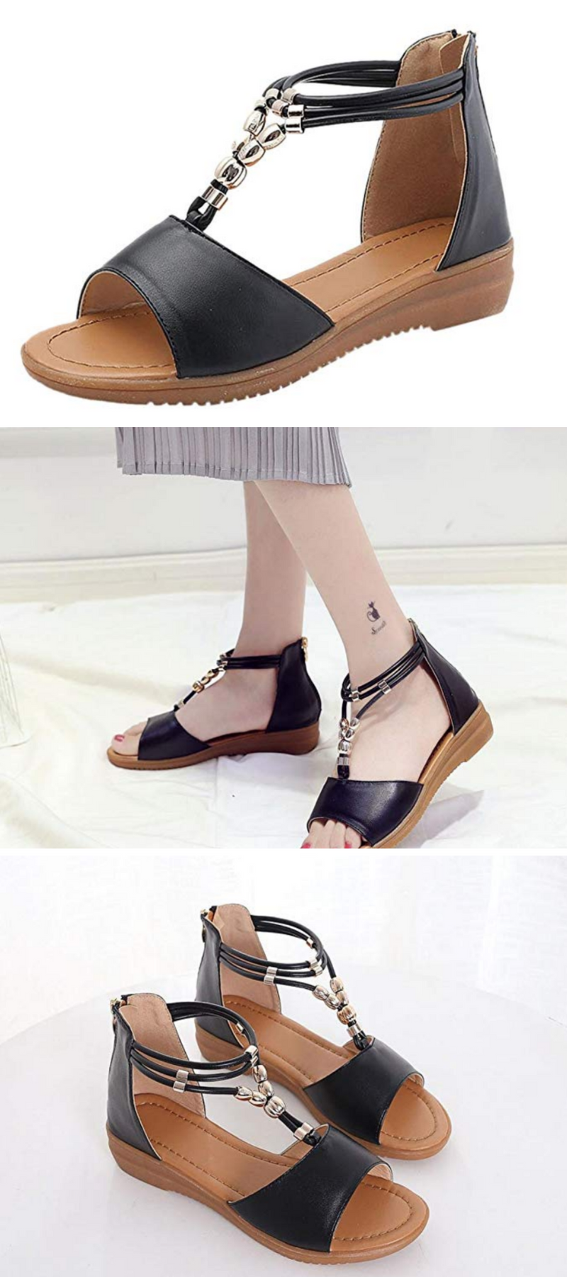 Women s Lady Wedge Sandles from Dener with comfort fit low heel platfom wide  width Arch Support are on Sale!  sandals  wedges  woman  fashion  foot ... 2deaa968d31