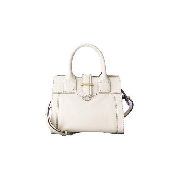 ファッション ❤ liked on Polyvore featuring bags, handbags, purses, white bags, white handbags and white purse