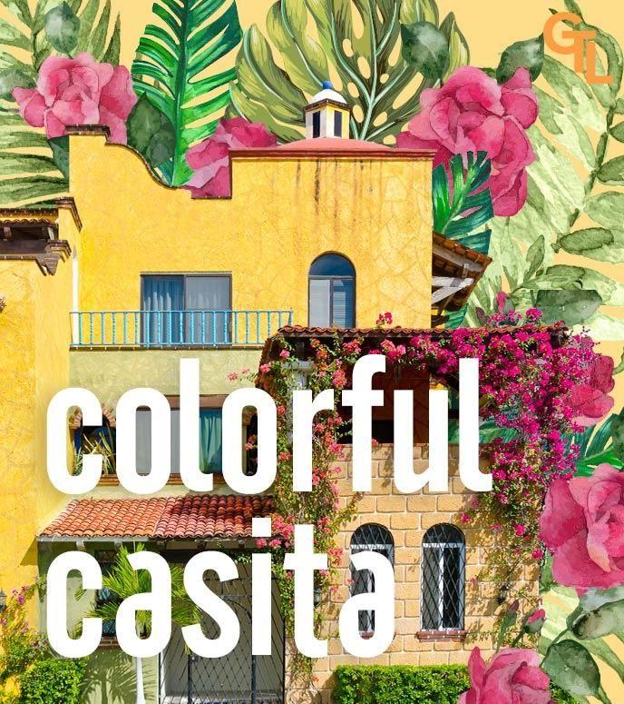 colorful casita