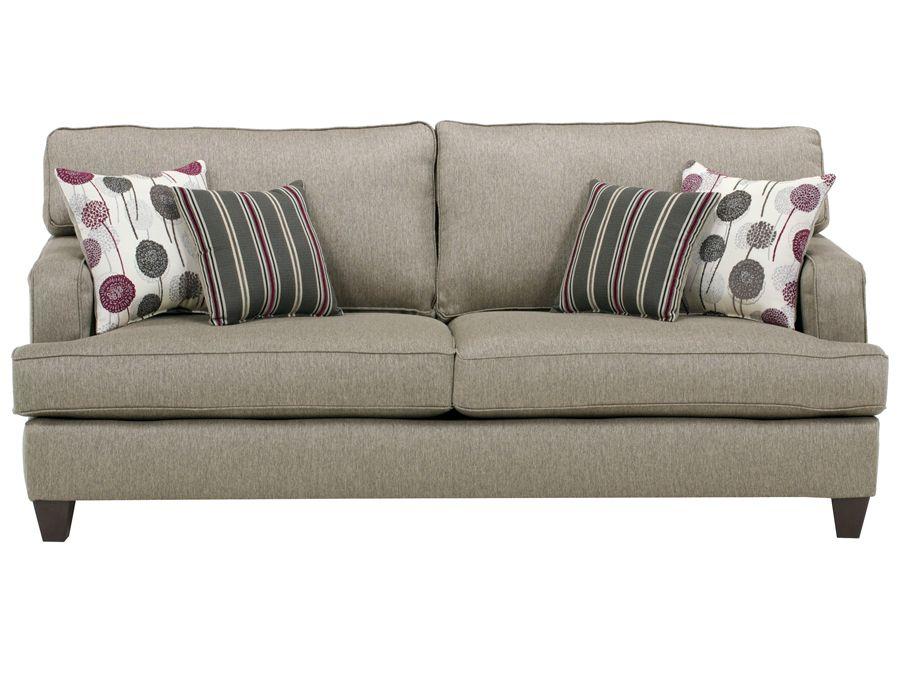 Luminous Pewter Sofa: Rothman Furniture 549.00