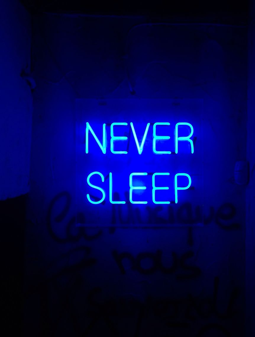 Neon Lighting Blue Aesthetic Aesthetic Colors Neon Signs
