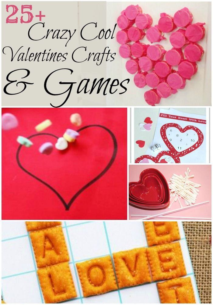 25 crazy cool valentines crafts games - Cool Ideas For Valentines Day