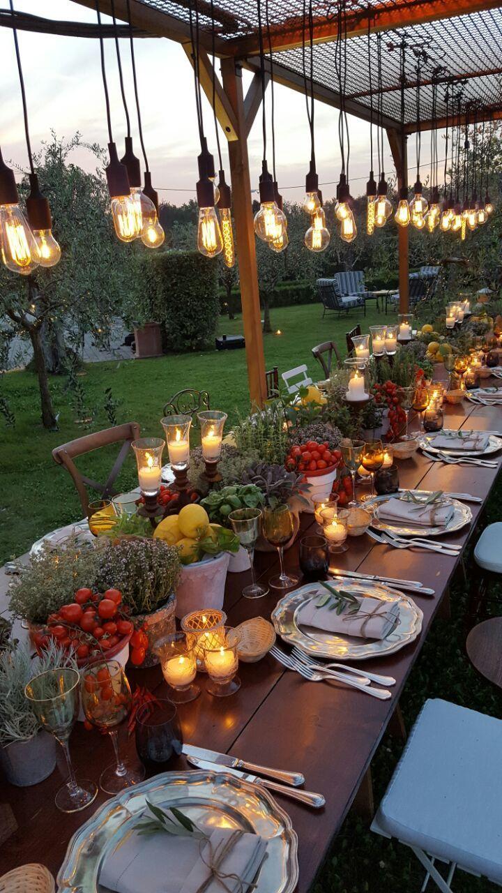 Genug gesagt ... Fügen Sie einfach den Nachthimmel zu dieser Tischdekoration und Beleuchtung hinzu, und dann ...  #dieser #einfach #fugen #genug #gesagt #nachthimmel #tischdekoration, #dinnerideas2019